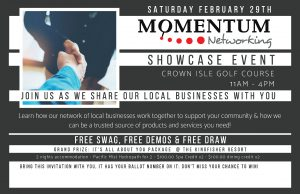 Momentum Networking-Showcase Invitation